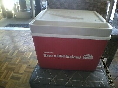 Vintage Collectable Tooheys Red  Esky Cooler 4L Rare Retro 1980's Advertising