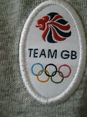 Rrp£28 Adidas Team Gb Grey Tracksuit Bottoms Trousers Age 11 12 Boys / Girls
