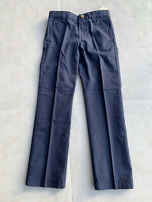BNWT Lacoste Boys Blue Navy Chinos - 8 Years