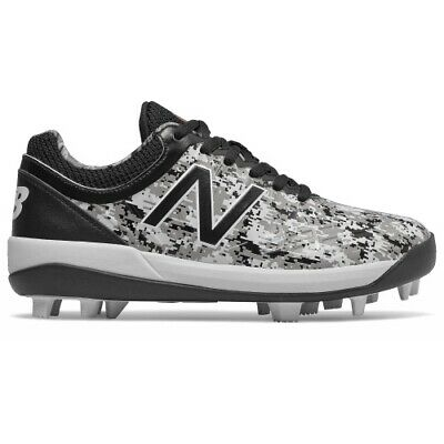 New Balance J4040V5 Youth BB Cleat - BK/CM - J4040PK5 - 1