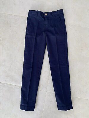 BNWOT Lacoste Navy Blue Boys Chinos Trousers - 10 Years
