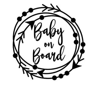 Baby on Board Decal / Sticker