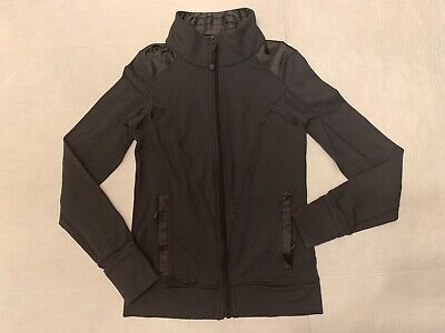 Ivivva by Lululemon Girls Zip Up Jacket 12 Gray EUC