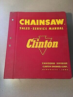 Vintage Clinton Service Manual