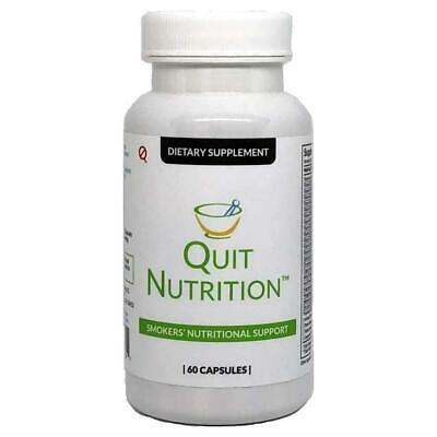 Quit Tea Smokers Nutritional Support 60 Capsules Natural Supplement Holistic