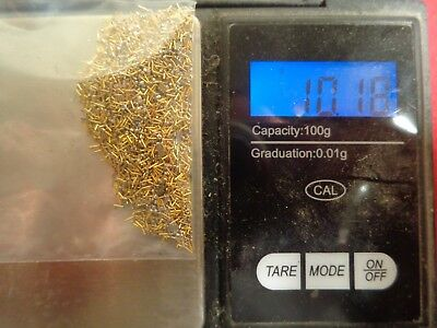 10 Grams Gold plate Cpu  Pins Scrap Refining lot all Amd Recovery computer
