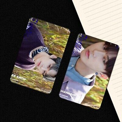 STRAY KIDS Clé Cle LEVANTER Official Lenticular Photocard limited Select 2020