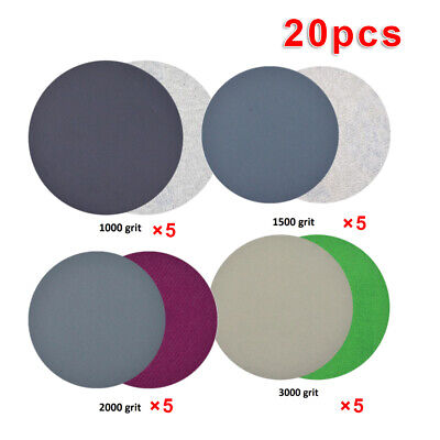 20pcs Sanding Wheel Discs Abrasive Sandpaper Sander Polishing Pads Waterproof