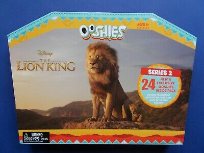 # Ooshies - The Lion King Series 2 - All 24 Ooshie - Woolworths **Free Postage!!