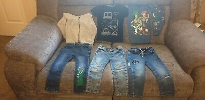 Next Baby Toddler Boys Clothes Bundle Jeans Tops Toy Story Pyjamas 18-24 Months