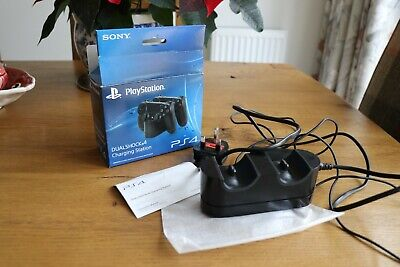 Sony PlayStation Dualshock 4 Charging Station for PS4 - Black OFFICIAL BOXED