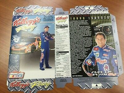 TERRY LABONTE autographed 2003 mini Kellogg/'s cereal box     UNFOLDED    AWESOME