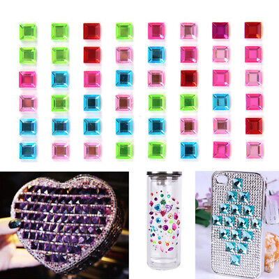 1Sheet Decal Scrapbooking Self Adhesive Rhinestone Bling DIY Stickers CrystP BF