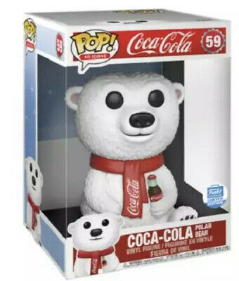 Funko Pop Ad Icons Coca Cola Polar Bear 10 Inch