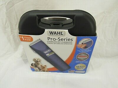 Wahl Home Pet Pro-Series Complete Pet Clipper Kit, for Pet Grooming, Trim OPEN