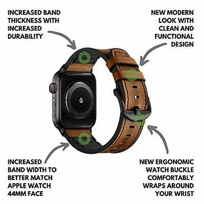 Mifa Compatible Con Apple Watch Band 44Mm 42Mm Series 5 4 3 Hybrid Sports Leath
