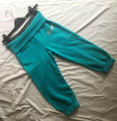Pineapple Dance 3/4 Length Turquoise Trackies, Age 11-12 NEW