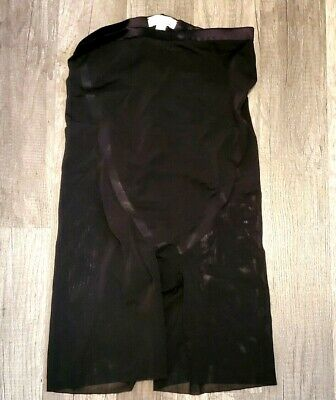 SPANX Mid Thigh Short Shaper Shorts in Very Black Style #10005P