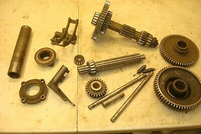 1941 Ford 9n Tractor 3 Speed Transmission Gears & Shifter Parts 2n
