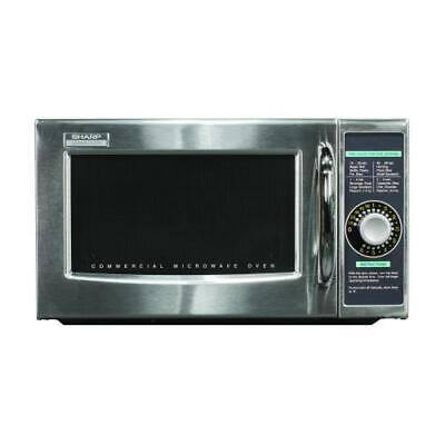 Sharp Electronics - R-21LCFS - 1000 Watt Dial Type Commercial Microwave Oven