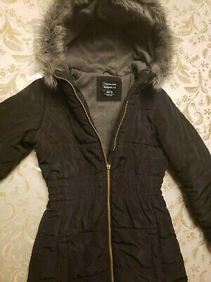 """Warm and Cozy Girls Coat Size 16 by """"Calvin Klein Jeans"""" Color black"""