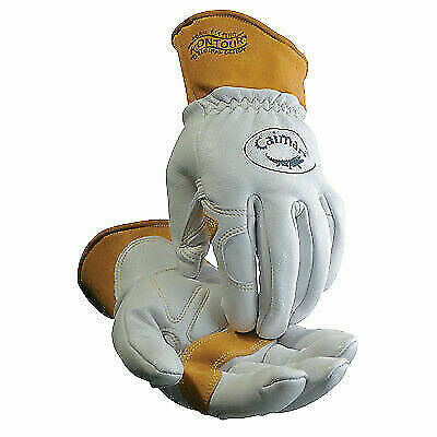 Sheep Grain Unlined Palm Wool Insulated Back TIG/MIG/Multi-Task Welding Gloves