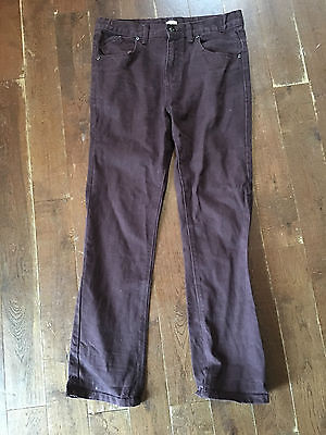 Florence and Fred Burgundy Jeans Age 12-13 years (158cm)