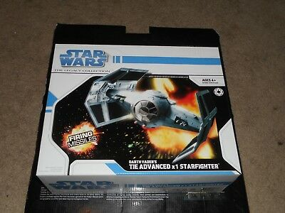 Darth Vader/'s TIE Advanced X1 Starfighter STAR WARS Legacy Collection MIB