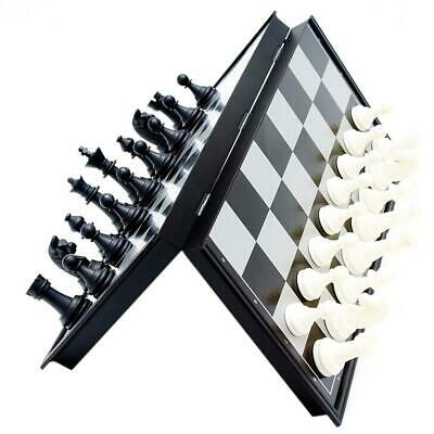 Children Outdoor Magnetic Folding Chess Set Portable Travel Board Games #S4