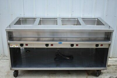 RANDELL 3614-240 ELECTRIC HOT FOOD TABLE with 4 WELLS