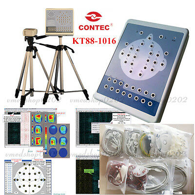 CE Digital KT88 16-Channel EEG Machine And Mapping Systems,Brain Electric,Tripod