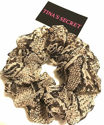 Great deal.TINA/'S SECRET Top Notch Extra Large Scrunchies #BittyBitty