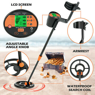 Waterproof LCD Metal Detector Gold Digger Deep Sensitive High Sensitivity 2modes
