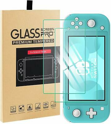 9H Tempered Glass Screen Protector For Nintendo Switch LITE 2 PACK. AU Seller