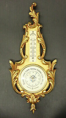 BAROMETER LOUIS XV STYLE - BRONZE - FRENCH ANTIQUE - Functional
