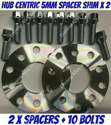 M12X1.5 BOLTS FOR BMW E81 E82 E87 E88 1 72.6 ALLOY WHEELS SPACERS 15mm X 2