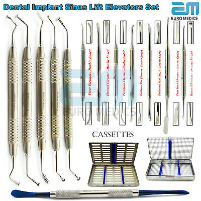 Dental Sinus Lift Mushroom Elevators Surgical Implant Oral Surgery Periosteal CE