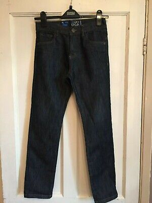 Boys Slim Fit Indigo Jeans from Urban Outlaws Age 11 years
