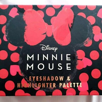 New Primark Mad Beauty Disney Minnie Mouse Eyeshadow and Highlighter Palette UK