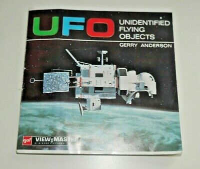 Ufo Viewmaster Reels 1969 Set B417 Rare Gerry Anderson  G107