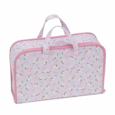 HobbyGift Project Case Storage Bag - Pink Mini Unicorns Design