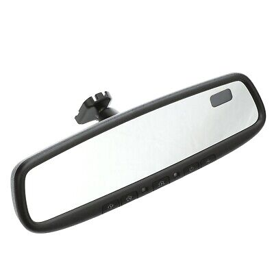 2014-2018 Mazda 3 Auto-Dimming Rearview Mirror with Compass and Homelink