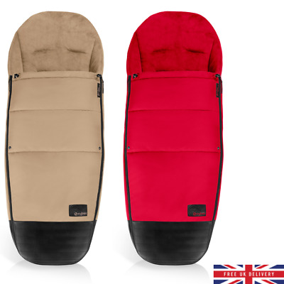 Blue Dimple Footmuff//Cosy Toes Compatible with Cybex Priam