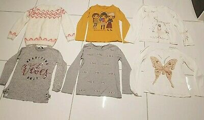 Girls Bundle Jumpers And Tops Next nutmeg Aged 9-10