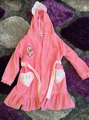 Girls Disney dressing gown 5-6 years