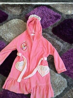 Girls Disney dressing gown 5/6 years