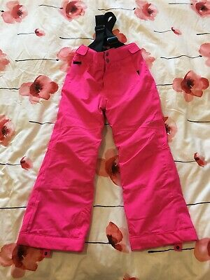 Girls' Pink Ski Trousers/Salapettes by Dare 2B Age 7-8