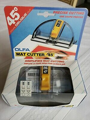OLFA 197B Simple Mat Cutter 45 Degrees FREE shipping Worldwide