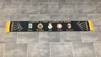Liverpool Football Scarf - European Cup Winners - New