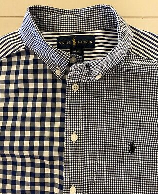 Ralph Lauren Boys Long Sleeved Checked Shirt.  age 10-12